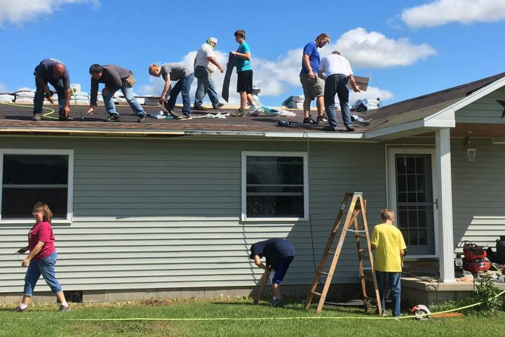 Roofing Project by Kalkaska Church of Christ