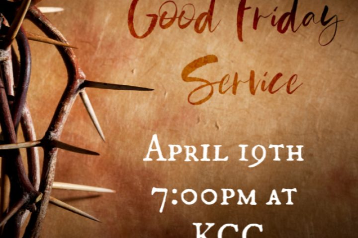Good Friday Service at the Kalkaska Church of Christ