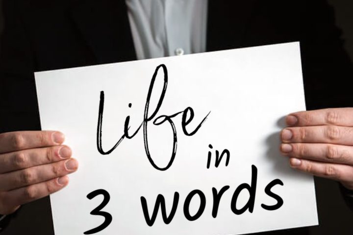 Life in Three Words - Kalkaska Church of Christ