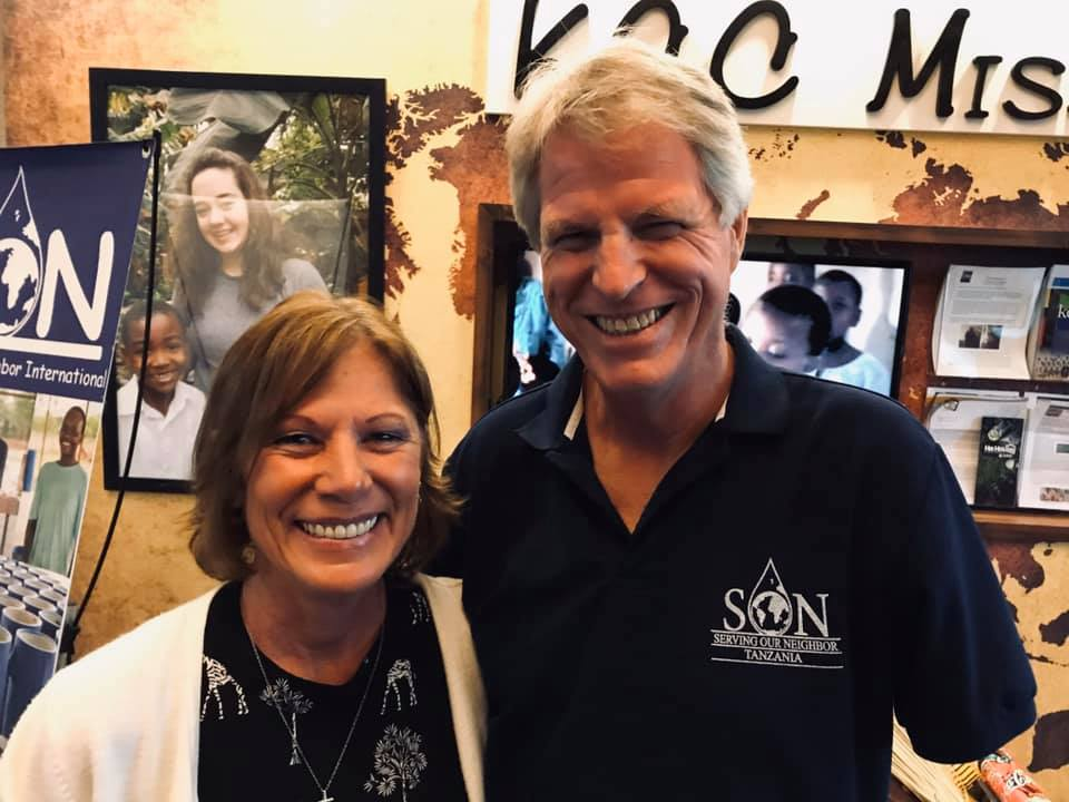 Todd & Ann Ziems visiting Kalkaska Church of Christ on September 2019