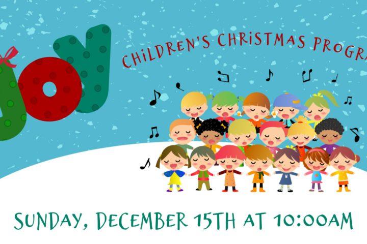 KCC Kids Christmas Program