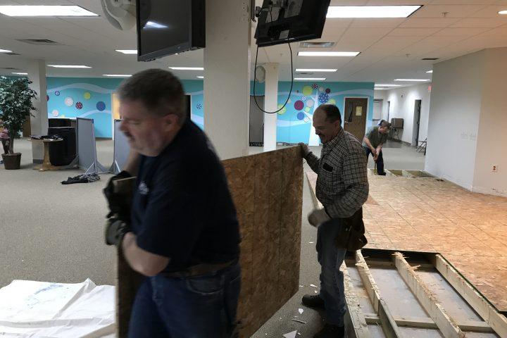Demolition at KCC