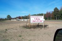 Future location of Kalkaska Church of Christ