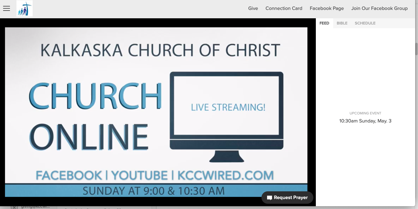 Church Online at Kalkaska Church of Christ