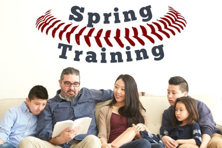 Spring Training Sermon Series on Parenting