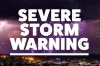 Severe Storm Warning Article from Kalkaska Church of Christ