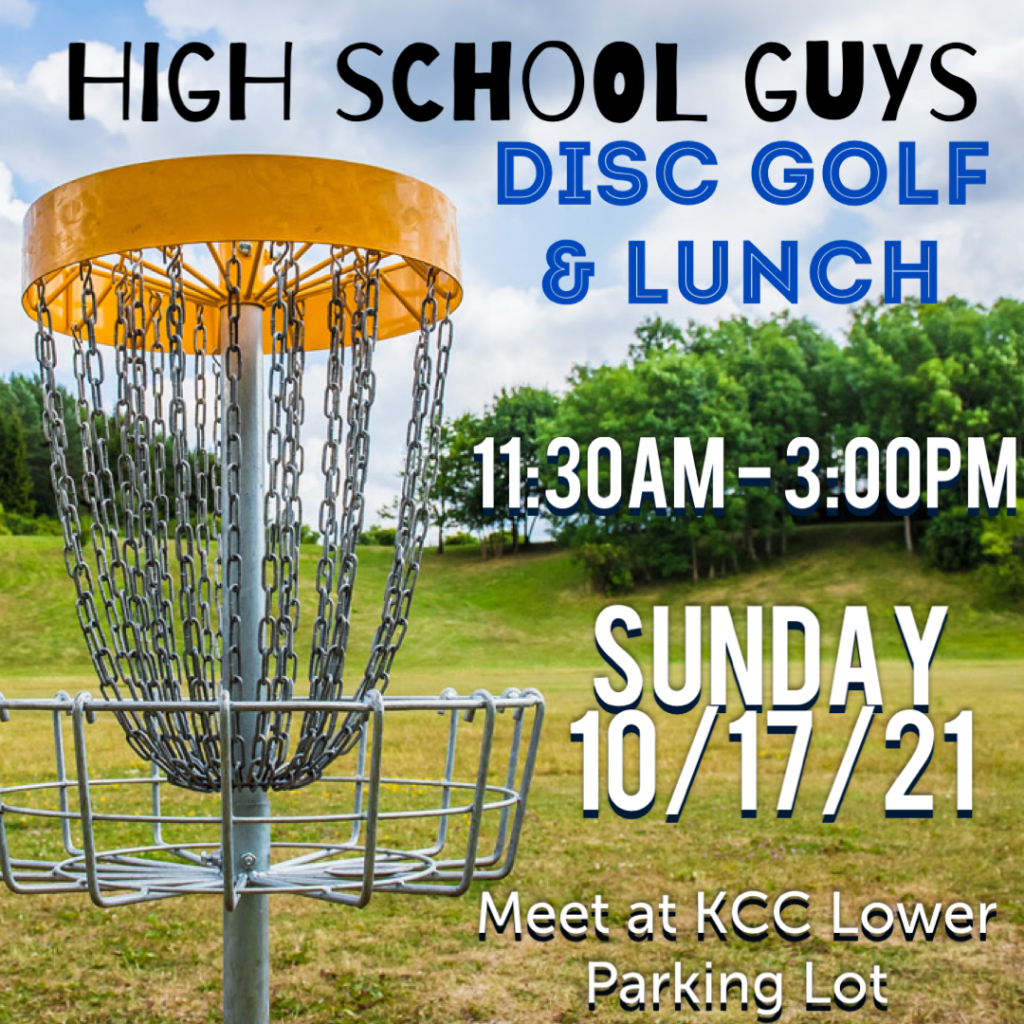 High School guys Disc Golf and Lunch