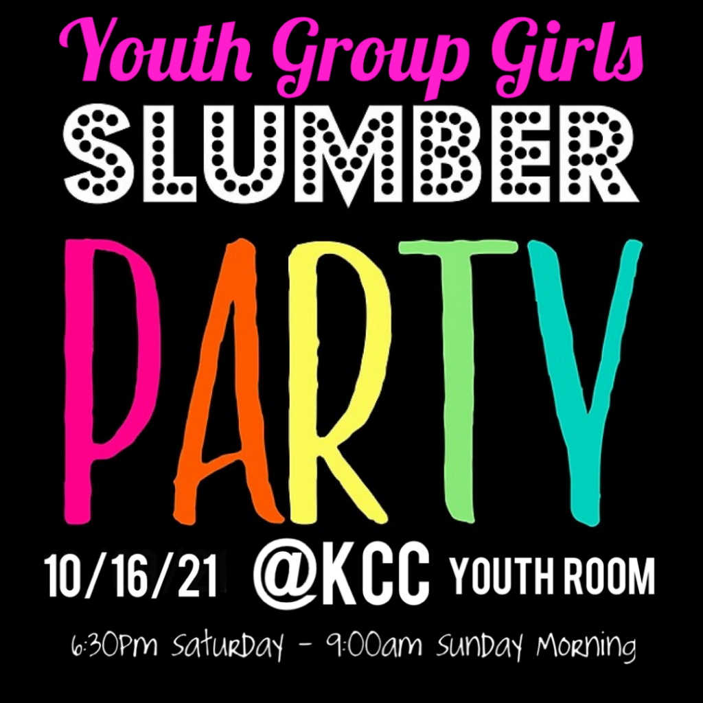 Youth Group Girls Slumber Party