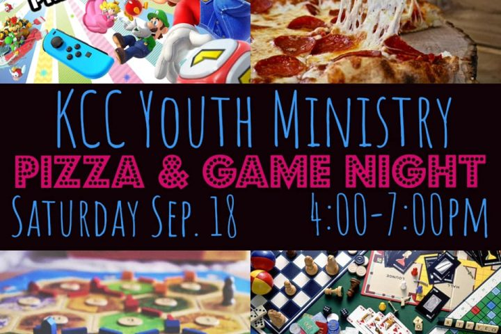 KCC Youth Pizza and Game Night